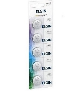 Bateria Elgin CR2032 C/5