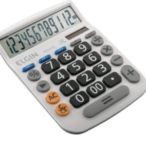 Calculadora de Mesa Elgin MV4132 Branco
